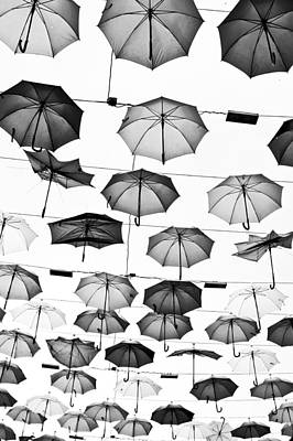 Umbrellas Poster by Tom Gowanlock
