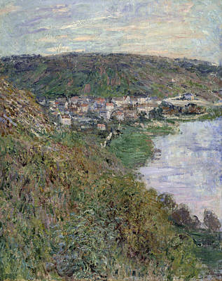 View Of Vetheuil Poster by Claude Monet