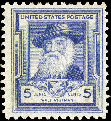 Walt Whitman (1819-1892) Poster by Granger