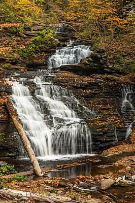 Ricketts Glen State Park Pennsylvania Poster