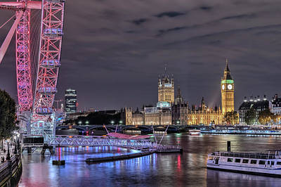 Westminster - London Poster by Joana Kruse