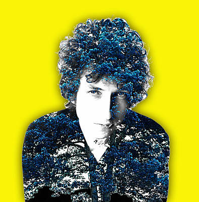Bob Dylan Collection Poster by Marvin Blaine