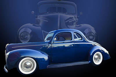 40 Ford Coupe Poster by Jim  Hatch