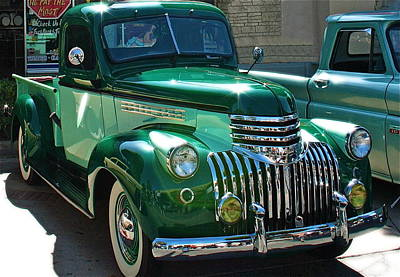 41 Chevy Truck Poster by Gwyn Newcombe