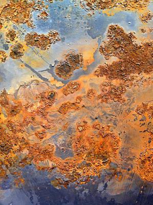 Rusty Metal Poster