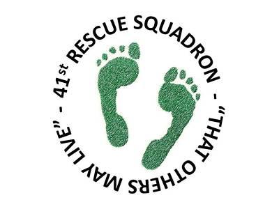 41st Rescue Squadron Poster