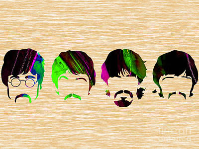 The Beatles Collection Poster by Marvin Blaine