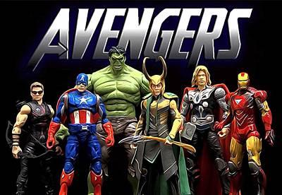 Avengers New Poster by Egor Vysockiy
