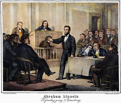 Abraham Lincoln Poster by Granger