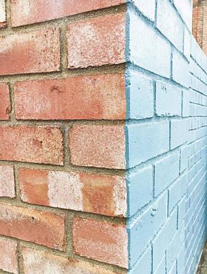 Brick Wall Poster