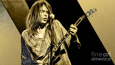 Neil Young Collection Poster