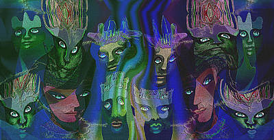 484  Feline  People  B Poster