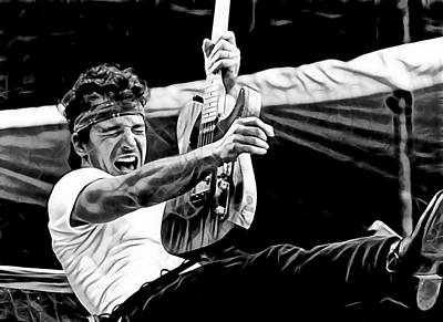 Bruce Springsteen Collection Poster