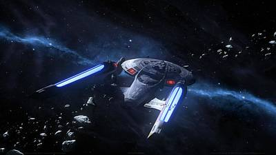 49339 Star Trek Enterprise Ncc1701e Poster by F S