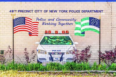 49th Precinct Bronx Nyc Poster