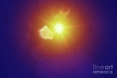 Abstract Sunlight Poster