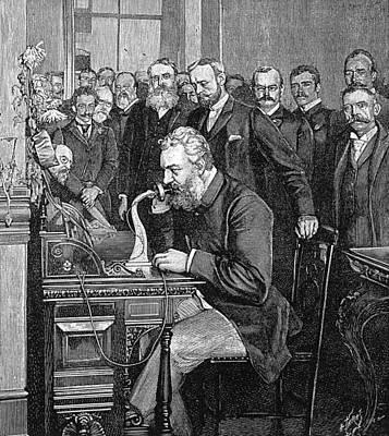 Alexander Graham Bell Poster by Granger
