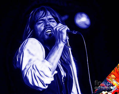 Bob Seger Collection Poster by Marvin Blaine