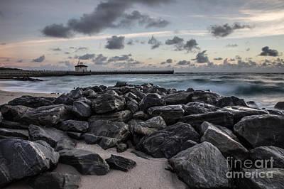 Boynton Beach, Florida Poster by Richard Smukler