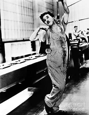 Chaplin: Modern Times, 1936 Poster by Granger