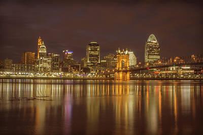 Cincinnati, Ohio Poster by Scott Meyer