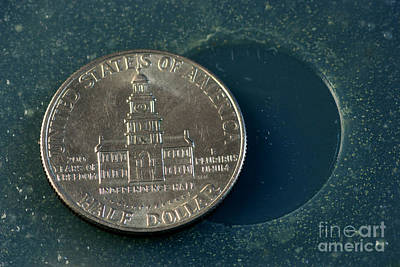 Coin Containing Silver Inhibits Poster