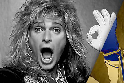 David Lee Roth Collection Poster by Marvin Blaine