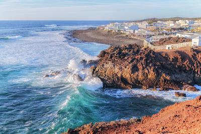 El Golfo - Lanzarote Poster by Joana Kruse