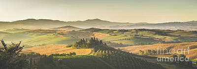 Golden Tuscany Poster by JR Photography