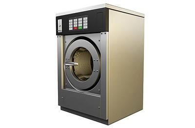 Industrial Washing Machine Poster