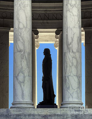 Jefferson Memorial Poster by John Greim