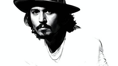 Johnny Depp  Poster by Best Actors