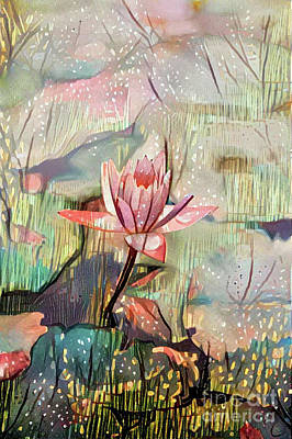 Lovely Waterlilies Poster