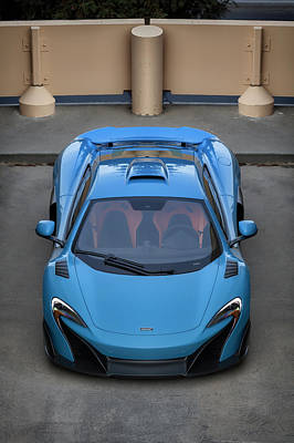 Poster featuring the photograph #mclaren #675lt #print by ItzKirb Photography