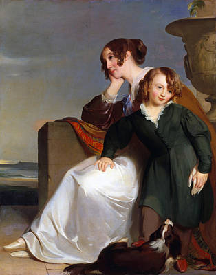 Mother And Son Poster by Thomas Sully