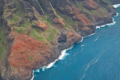 Na Pali Coast Kauai Poster by Steven Lapkin