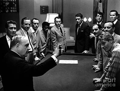 Ocean's 11 Promotional Photo Poster by The Titanic Project