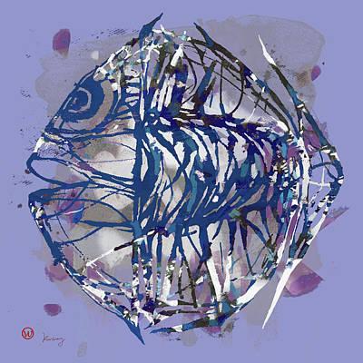 Pop Art Fish Poster Poster