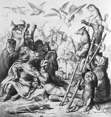Reynard The Fox, 1846 Poster