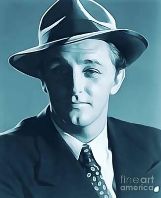 Robert Mitchum, Vintage Actor Poster