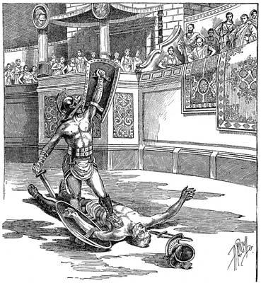 Roman Gladiators Poster