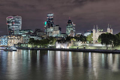 Skyline Of London Poster