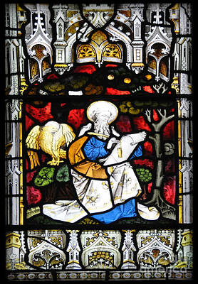 Stained Glass Panel Poster by Paul Cummings