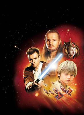 Star Wars Episode I - The Phantom Menace 1999 Poster