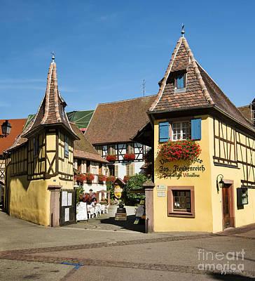 Streets Of Eguisheim Poster