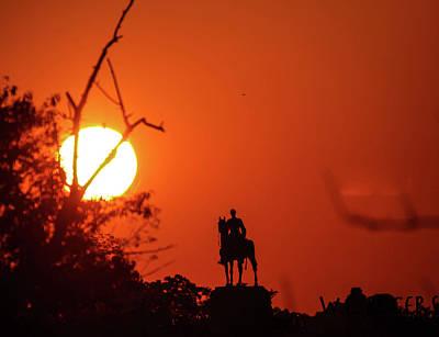 Sunrise At Gettysburg Poster