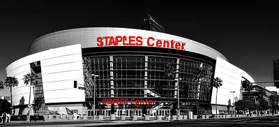 The Staples Center Poster by Mountain Dreams