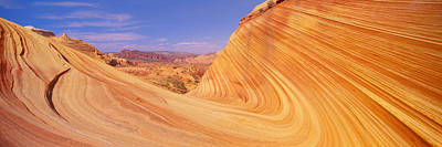 The Wave, Sandstone Formation, Kenab Poster by Panoramic Images