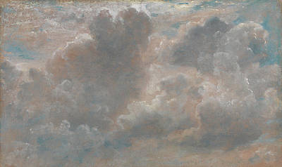 Title Cloud Study Poster by John Constable