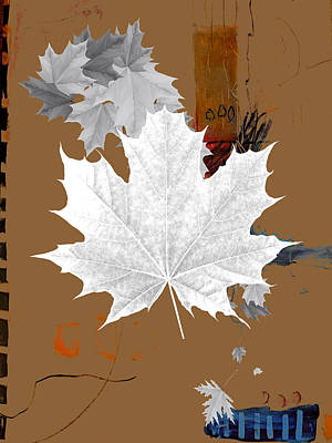 Tree Leaves Art Poster